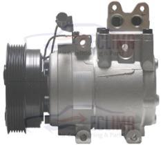 ECLIMA 121042 - COMPRESOR EQUIV HCC HS18 HYUNDAI-KIA PV6 125MM 12V