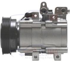 ECLIMA 121046X - COMPRESOR HS15 HYUNDAI 125MM PV6 12V