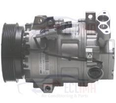 ECLIMA 121023X - COMPRESOR ZEXEL DCS17 RENAULT PV6 125MM 12V